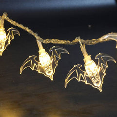 Halloween Bat Light White
