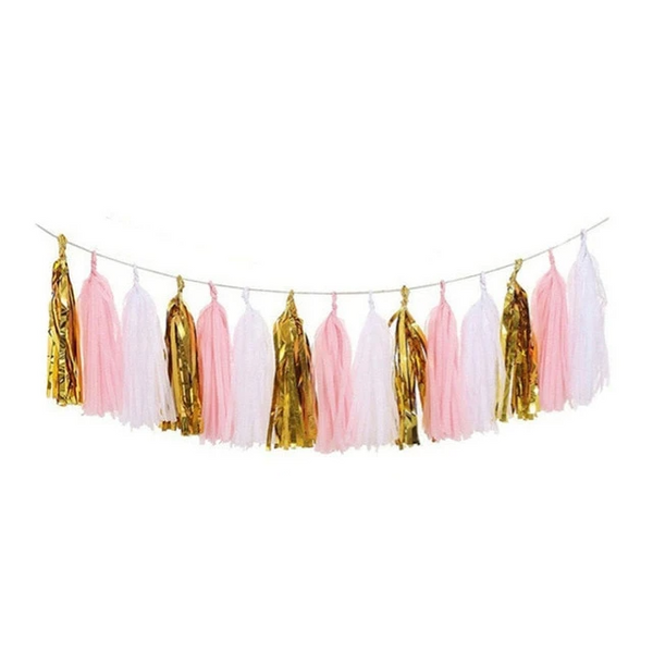 Pink Gold Banner - spreeparty