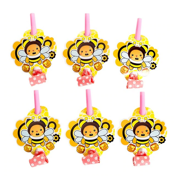 Cartoon Bee Blowouts - spreeparty