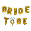 Bridal To Be  Balloon Gold Banner - spreeparty