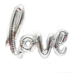 Wedding Love Letter Balloon Sliver