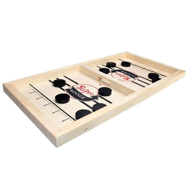 Fast Hockey Sling Puck Game