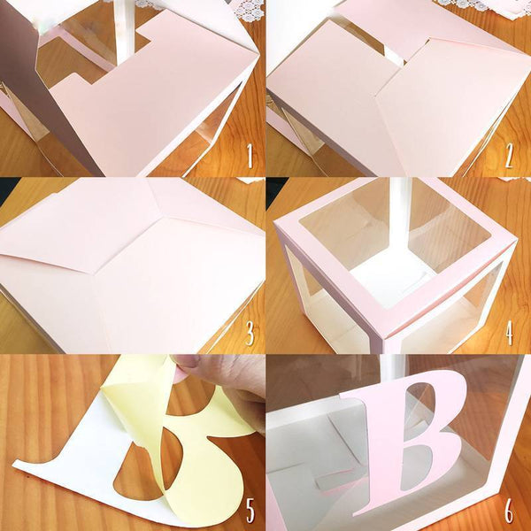 Baby Letters Boxes