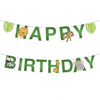Jungle Happy Birthday Banner - spreeparty