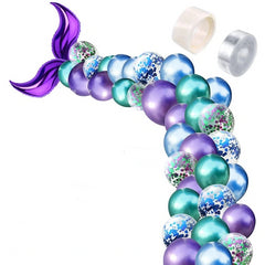 Mermaid Purple Tail Balloon