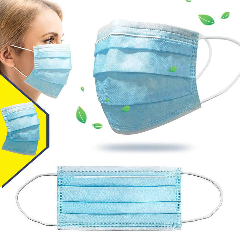 Wholesale Face Cover Disposable Mouth Cover - LYU Apparel Accessories Surgical Masks