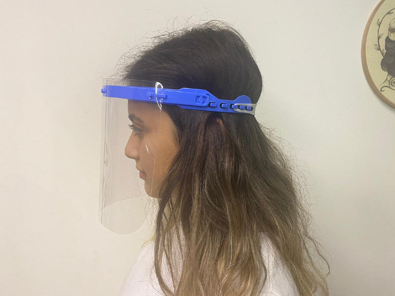 Face Shield - ANTI FOG - %100 PET Material  * Type 2 - Free Shipping