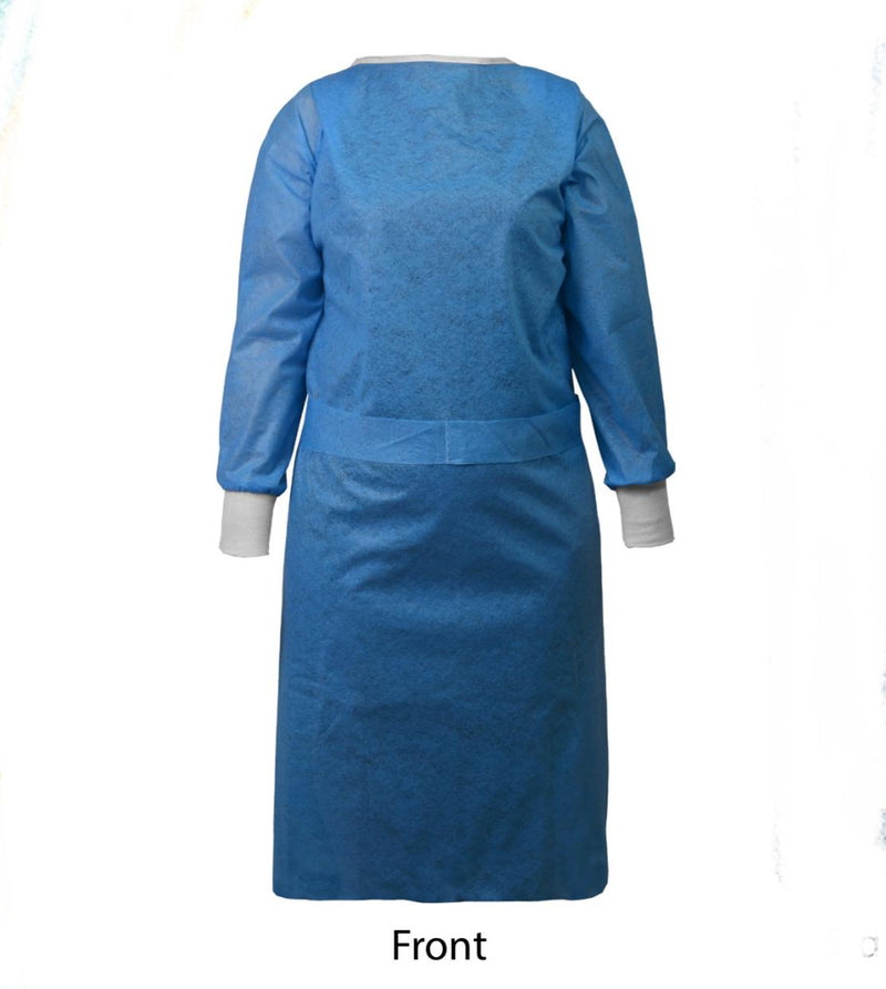 Isolation Gown, Non-Woven Disposable Waterproof, Made in Turkey FDA Approved