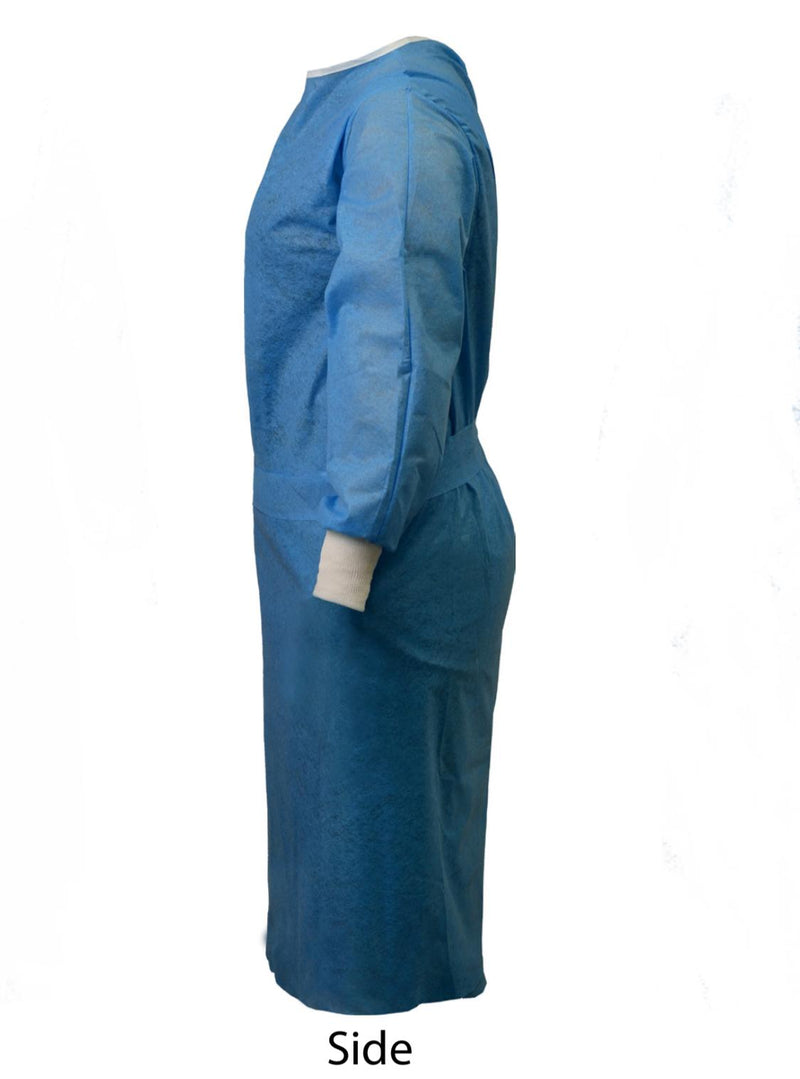 Wholesale Isolation Gown, Non-Woven Disposable Waterproof, Made in Turkey FDA Approved