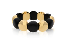 Load image into Gallery viewer, Large Dama Aura Matte Black Bracelet