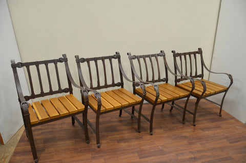 Wrought Iron Chairs priced each