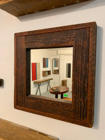 Rough Sawn Mirror
