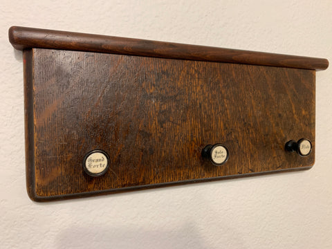 Grand Forte, Solo Forte and Flute Coat Rack