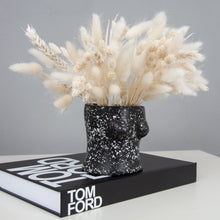 Load image into Gallery viewer, Black Terrazzo Boob Vase
