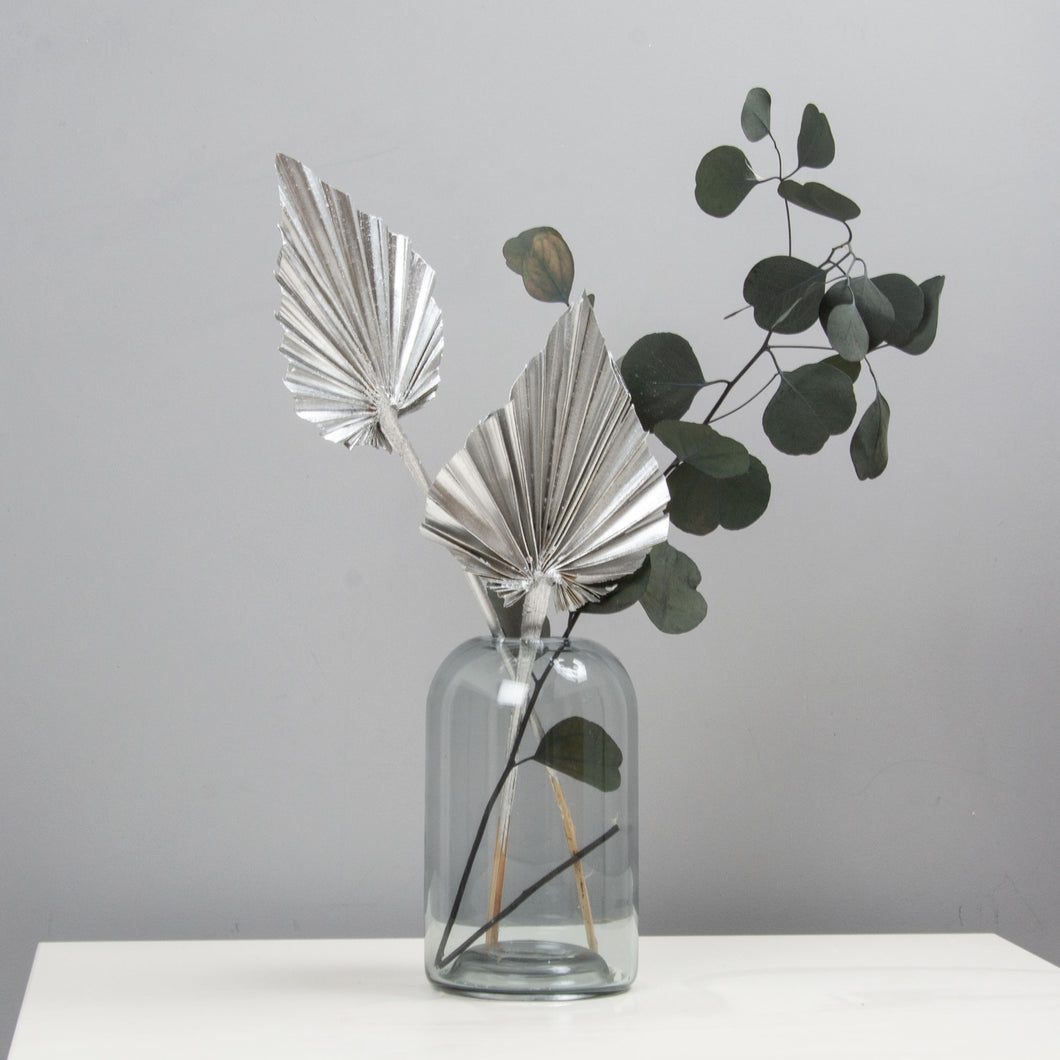 Palm Spears Silver Dried Flower Bunch x 5