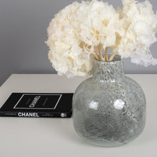 Load image into Gallery viewer, Vase- Marble Glass Bottle Liz Vase