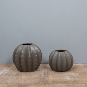 Pumpkin Ceramic Vase - M