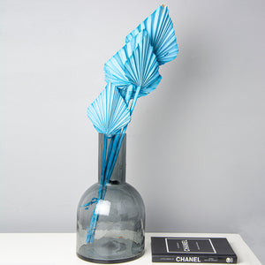 Palm Spears Pale Blue Dried Flower Bunch x 5