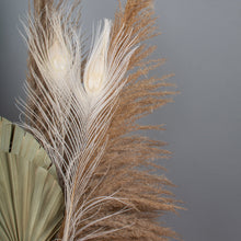 Load image into Gallery viewer, Peacock Feathers White
