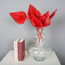 Load image into Gallery viewer, Palm Spears Red Flower Bunch x 5