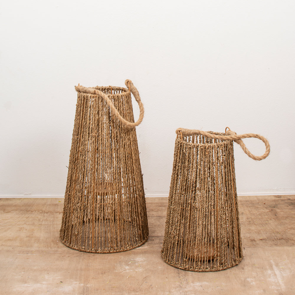 Vases/ Lanterns Seagrass