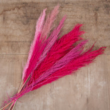 Load image into Gallery viewer, Pampas Grass mixed arrangement Pink