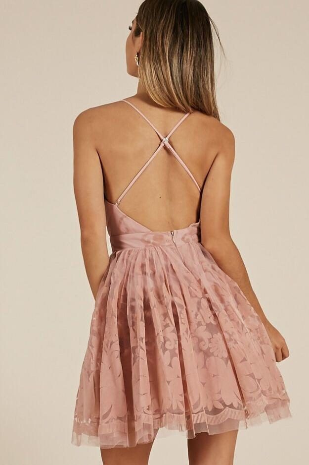 Sexy Short Homecoming Dresses Backless Cocktail Party Dress GM55