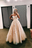 Appliques long evening prom dresses, cheap custom party dresses mg170
