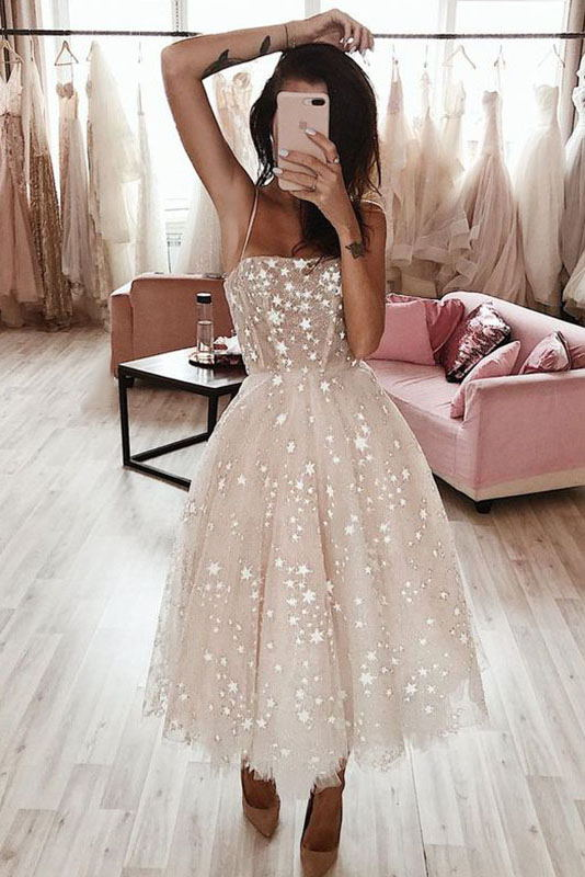 Sparkly Sequins Homecoming Dress Starry Night Short Wedding Gown MP269
