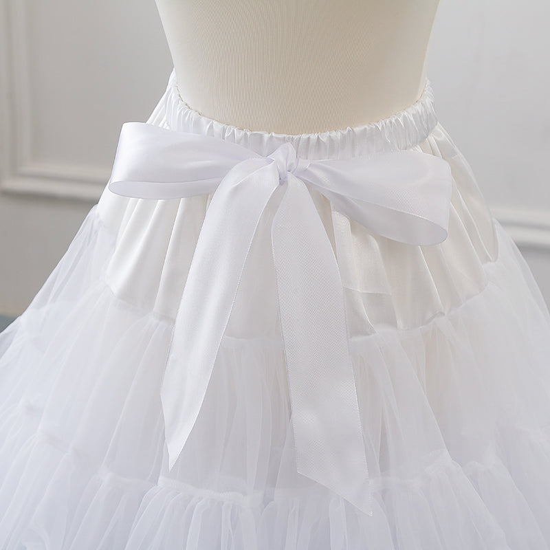 Ultra-puff Soft Yarn Boneless Petticoat Tutu Cosplay Skirt WP11