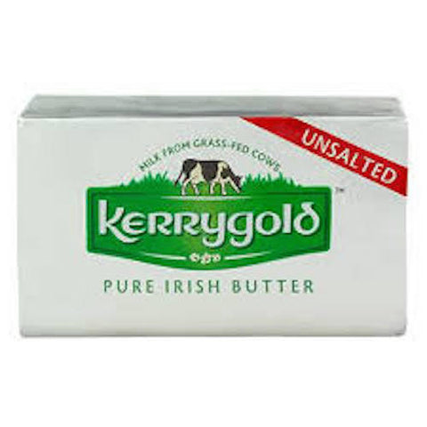 Kerrygold Pure Irish Butter Unsalted Product of Ireland 8 oz
