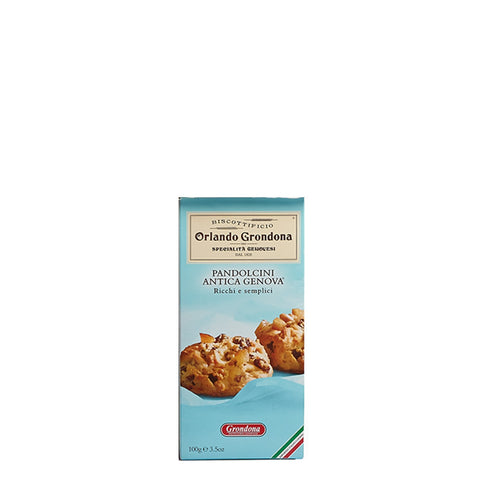 Orlando Grondona Pandolcini Biscuits with Sultana Raisins Product of Italy 3.5 oz