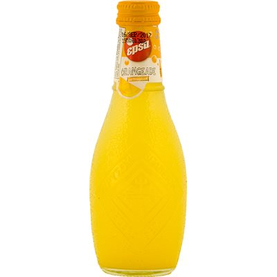 EPSA Carbonated Orangeade Product of Greece 7.8 oz