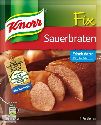 Knorr Fix Sauerbraten (Pot Roast) Product of Germany 37 g