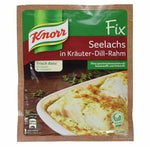 Knorr Fix Seelaches in Krauter-Dill-Rahm (Fish in Herbs Sauce) Product of Germany 30 g