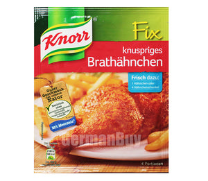 Knorr Knuspriges Brathahnchen (Crispy Fried Chicken) Product of Germany 29 g