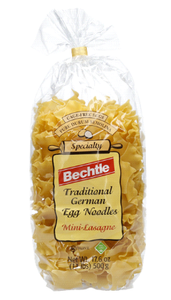 Bechtle Traditional German Egg Noodles Mini Lasagne Product of Germany 17.6 oz