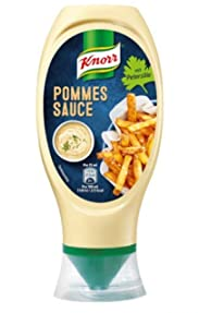 Knorr Pommes Sauce Mit Petersilie (Sauce for French Fries with Parsley) Product of Germany 14.5 oz
