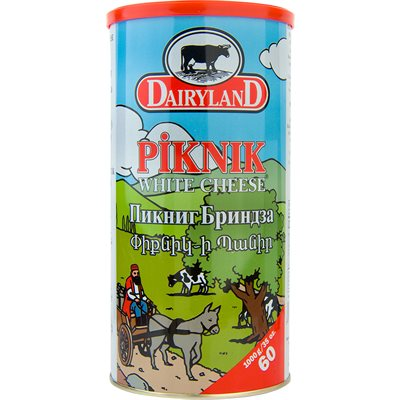 Dairyland Piknik White Cheese Product of Austria 35 oz