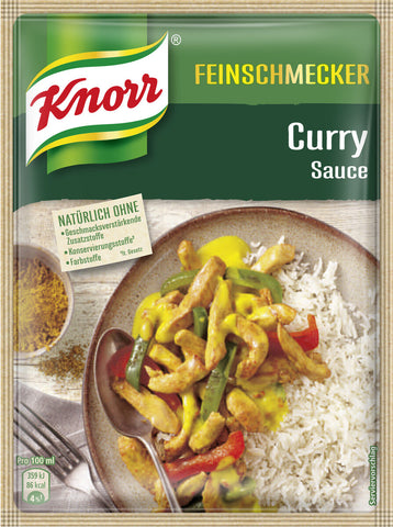 Knorr Feinschmecker Curry Sauce Product of Germany 47 g