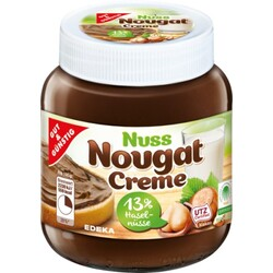 Edeka Gut & Gunstig Nut Nougat Creme Product of Germany 14.11 oz