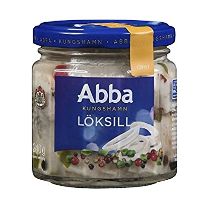 Abba Herring in Onion Marinade Product of Germany 4.8 oz