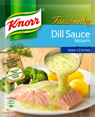 Knorr Feinschmecker Low-Fat Dill Sauce Product of Germany 31 g