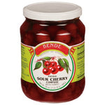 Bende Pitted Sour Cherry Compote Product of Hungary 24 oz