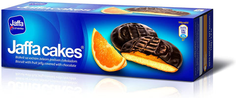 Jaffa Biscuit with Fruit Jelly Covered with Chocolate Product of Serbia 5.3 oz