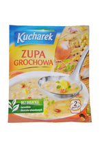 Load image into Gallery viewer, Kucharek Zupa Grochowa (Pea Soup) Product of Poland 45 g