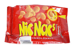 Lorenz Nic Nacs Double Crunch Peanuts Product of Germany 4.40 oz