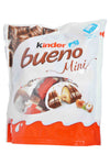 Kinder Bueno Mini Wafer with Hazelnut Filling in Milk Chocolate Product of Poland 108 g
