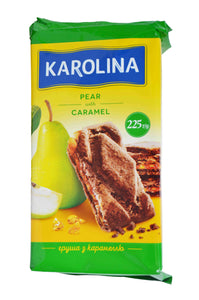 Karolina Biscuits with Pear and Caramel Product of Ukraine 7.93 oz