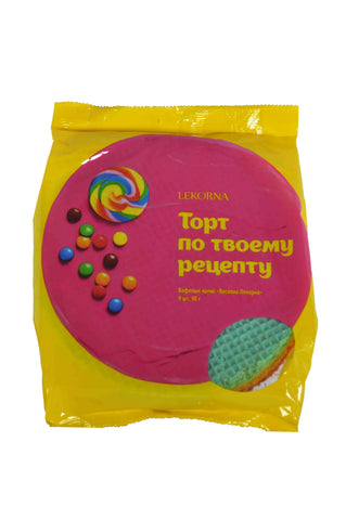 Lekorna Topt No Tboemy Peyenty Rainbow (Wafers Layers Veselka) Product of Ukraine 3.17 oz